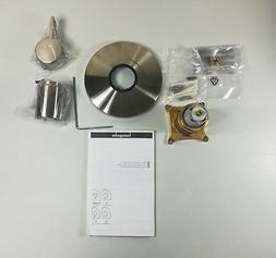 Hansgrohe 04233820 S Pressure Balance Trim, Brushed Nickel