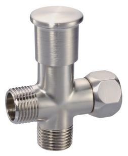 1/2 Push Pull Shower Arm Diverter - Finish: Brushed Nickel