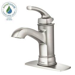 1-Handle Bathroom Faucet Sink Single Hole Spot Resist Brushe