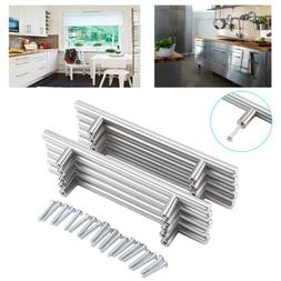10 Pcs Stainless Steel Brushed Nickel Kitchen Cabinet Handle