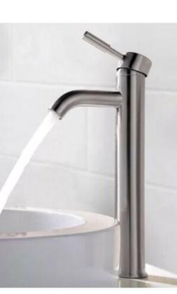 12 Inch Brushed Nickel Bathroom Single Hole Faucet