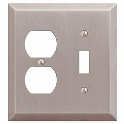 Amerelle 163TDBN Century Brushed Nickel Steel 1 Toggle 1 Dup
