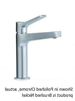 Aquabrass 17014BN Metro Single-Hole Lavatory Faucet in Brush