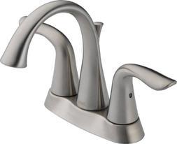 Delta Faucet 2538-SSMPU-DST 2H SS LAV Faucet W/POPUP, 5.00 x