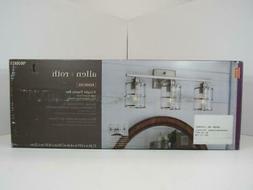 allen + roth 3-Light Kenross Brushed Nickel Bathroom Vanity