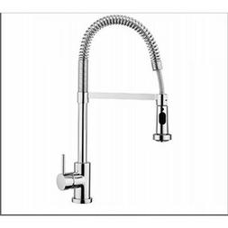 Aquabrass 30045 Wizzard Kitchen Faucet - Brushed Nickel - Ne