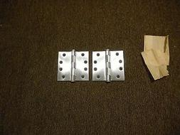Stanley 4 inch brushed nickel hinges Made in USA
