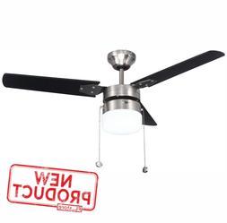 42 ceiling fan w led light lamp
