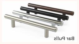5, 10 - 25 Pack Solid Bar Pull Kitchen Cabinet Door Handles