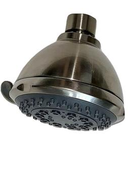 Premier 5 Spray Setting Shower Heads, Brushed Nickel 2.0 GPM