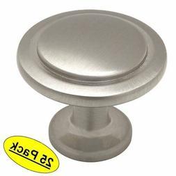 Cosmas 5560SN Satin Nickel Cabinet Hardware Round Knob - 1-1