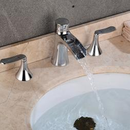 """6"""" Bathroom Faucet Widespread Chrome/Brushed Nickel/ORB Thre"""