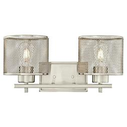 Westinghouse 6327700 Morrison Two-Light Indoor Wall Fixture,