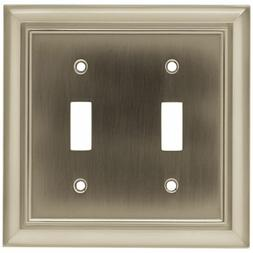 BRAINERD 64208 Architectural Double Switch Wall Plate / Swit