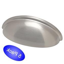 Cosmas® 783SN Satin Nickel Cabinet Hardware Bin Cup Drawer