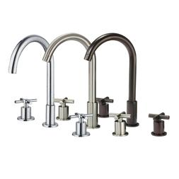 """8"""" Bathroom Faucet Widespread Chrome/Brushed Nickel/ORB Thre"""