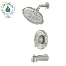 Moen 82877SRN Posi-Temp Pressure Balanced Tub and Shower Tri