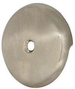 Danco 89235 Tub Drain Overflow Plate, Brushed Nickel