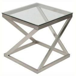 Ashley Furniture Signature Design - Coylin Glass Top Square