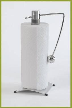 Zojila Isis Paper Towel Roll Holder, Brushed Nickel