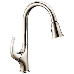 Dawn AB04 3277BN Single-Lever Pull-Out Spray Kitchen Faucet,