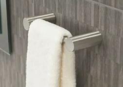 MOEN Align 9 in. Hand Towel Bar in Brushed Nickel YB0486BN