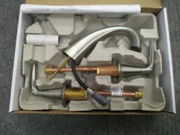 Alteo Centerset Lavatory Faucet with Double Lever Handles