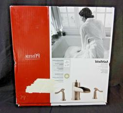 Pfister Ashfield 2-Handle Roman Tub Faucet, Brushed Nickel