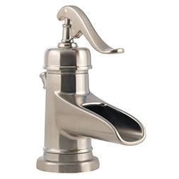Pfister Ashfield 4 in. Centerset 1-Handle Bathroom Faucet Br