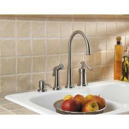 Pfister Ashfield Single-Handle Standard Kitchen Faucet Brush