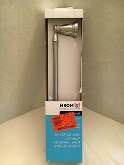 Moen - Banbury - 18 Inch Towel Bar - Brushed Nickel - Y2618B