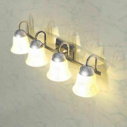 4-Light LED Light Brushed Nickel Vanity Lamp Figuratus Dimma