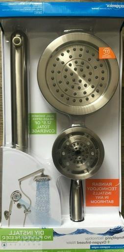 Bathroom Easy Install Rain Shower Head Fixture RainBar Massa