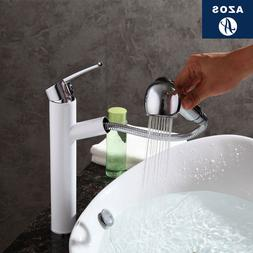 Bathroom <font><b>Faucet</b></font> Pull Out Single <font><b