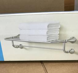 """Moen BH5294BN  Spot Resist Brushed Nickel 24"""" Bathroom Towel"""