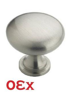 Amerock BP53005-G10 Allison Satin Nickel Round Cabinet Knob,