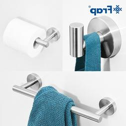 12 inch 3 Pcs Bathroom Hardware Accessory Set Wall-Mounted T
