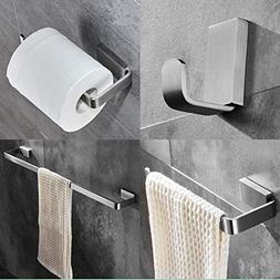 ELLO&ALLO Brushed Nickel Bathroom Hardware Set,Stainless Ste