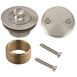 WG-100 Conversion Kit Bathtub Tub Drain Assembly, All Brass