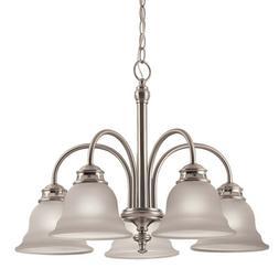 Brushed Nickel Kitchen Dining Room Chandelier Ceiling Lighti