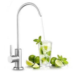 FLG Brushed Nickel Kitchen Faucet Reverse Osmosis Filter Dri