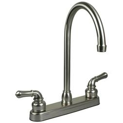 Brushed Nickel RV / Motor and Mobile Home Kitchen Faucet Rep