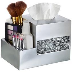 Tissue Box Cover - Wipe Holder - Multi-Function Organizer fo