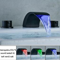 chrome polished two handle widespread bathroom sink