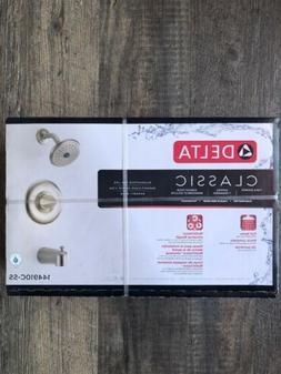 Delta Classic Tub Shower Brushed Nickel 144910C-SS Free Ship