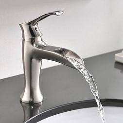 Commercial Modern Stainless Steel Single Handle Waterfall Br