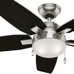 Hunter Fan 46 in. Contemporary Ceiling Fan with LED Light Ki