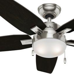 Hunter Fan 46 in. Contemporary Ceiling Fan with LED Light Ki