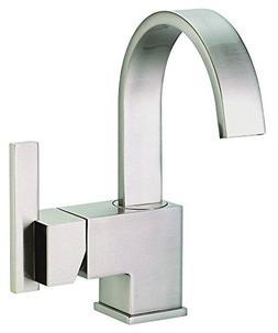 Danze D221144BN Sirius Single Handle Lavatory Faucet, Brushe