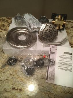Delta Brushed Nickel faucet, fixture, and genuine new parts